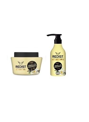 Redist Redist Vanilya Kokulu Bakım Şampuanı No:90 500 Ml+Saç Bakım Maskesi 500 Ml Renksiz